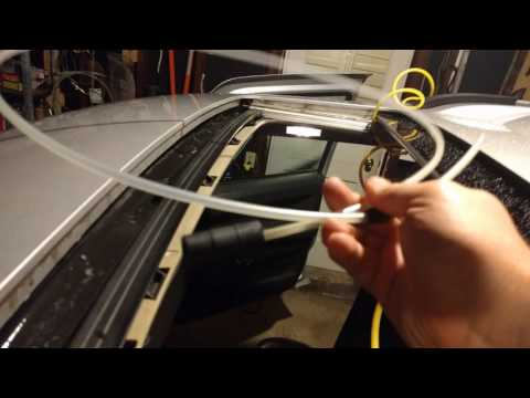 How to Fix a Leaky Jeep Commander Sun Roof