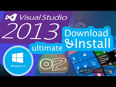 Download & Install visual studio 2013  in  windows 10 in urdu /hindi  | windows store app (02)
