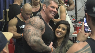 Rich Piana Hanging at the LA Fit Expo 2017