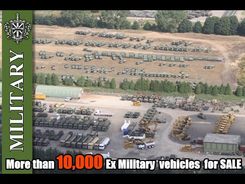 Ex Military stock in Doncaster. Used military vehicles for sale