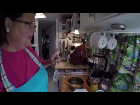Power AirFryer XL-Biscuits, Country Fried Steak and Peach Cobbler