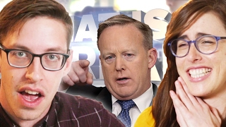 Does Sean Spicer Chew 35 Pieces Of Gum Every Day? • FAKE NEWS