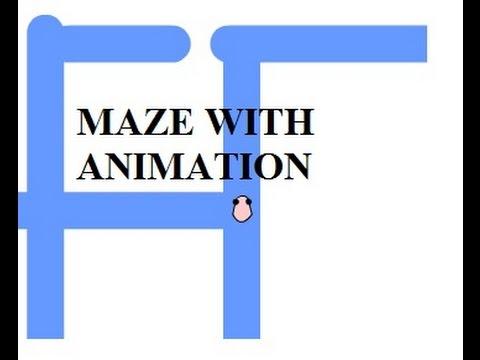 Flash CS6 Tutorial 35 Maze With Animation