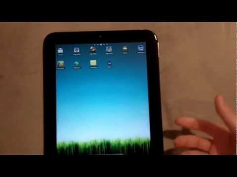 Dual Booting Android and WebOS on HP Touchpad