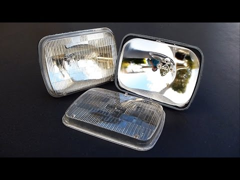 How to Separate Headlight or Fog Light Lenses (without Oven, EASY)