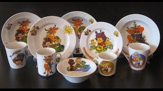 Посуда Орешенка и её друзья