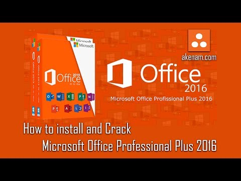 How to install Microsoft Office Professional Plus 2016 + Activation