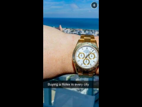 Buying a Rolex in every city...