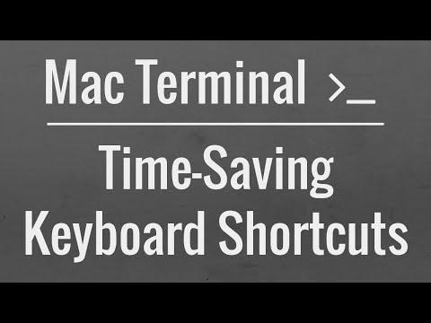 Mac OS X Terminal Tutorial: Time-Saving Keyboard Shortcuts