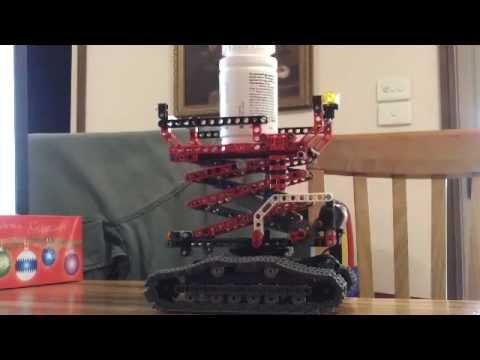 Lego 8294 Alternative Model....Motorized Scissor Lift