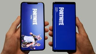 iPhone XS Max vs Galaxy Note 9 Speed Test, Camera Test & Speakers!