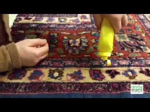 Rug Stain Protection: revitaProtection - Mustard Stain
