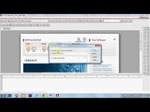 1:Creating a project in Pspice