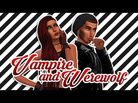 The Sims 4: Create a Sim | Vampire and Werewolf