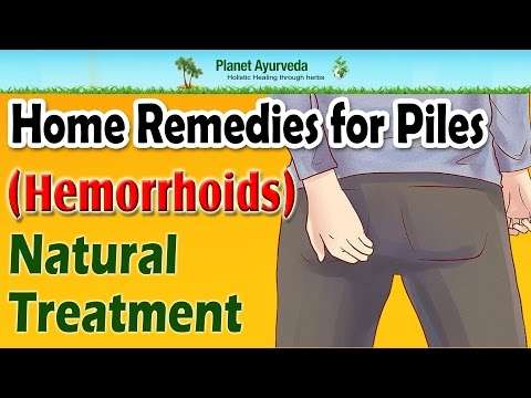Home Remedies for Piles ( Hemorrhoids)- Natural Treatment