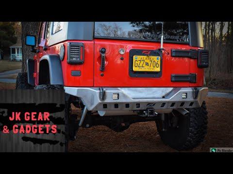 Jeep Wrangler Rear Bumper Upgrade! | JKU |