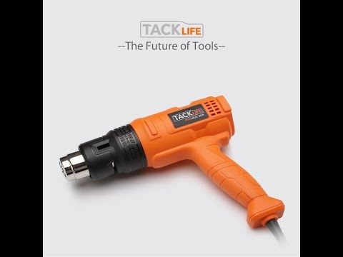 Review of the Tacklife pro heat gun HGP70AC