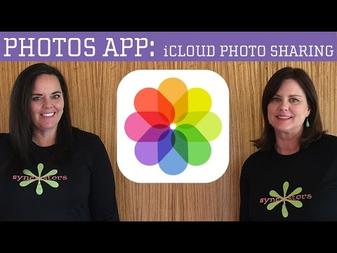 iPhone / iPad Photos App - iCloud Photo Sharing