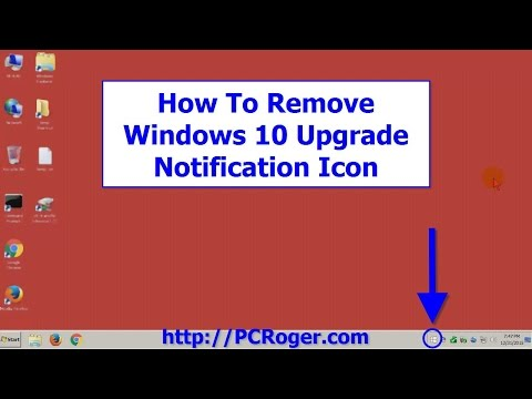 How To Remove Windows 10 Upgrade Notification Icon