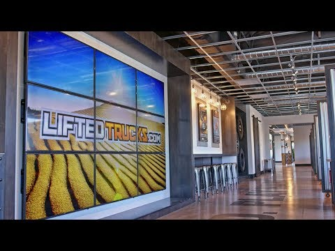 A LOOK INTO THE NEWLY REMODELED LIFTED TRUCKS FACILITY IN PHOENIX ARIZONA