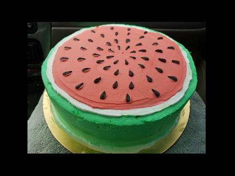 Pastel de tres leches sandia 🍉 watermelon cake three milk 🎂