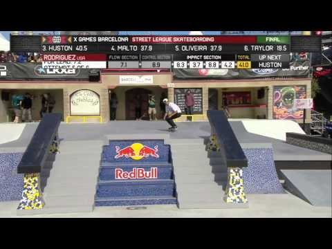 Paul Rodriguez Wins Silver in Street League Skateboarding