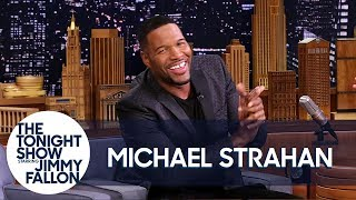 Michael Strahan Sliced Off His Pinky in a Car Lift