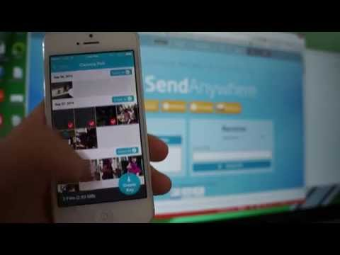 How to Send Your Files from iPhone to PC in 30 Sec via Send Anywhere