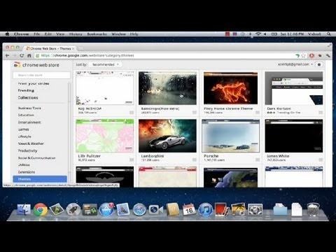 How to Install New Themes on Google Chrome : Google Chrome Tips