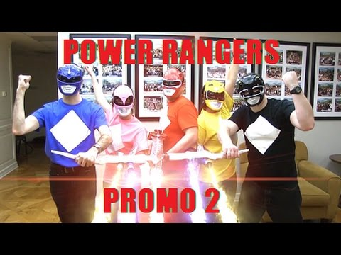 Prop Promo: Power Rangers 2