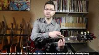 Download CAGED System (Major), Lesson 1: Major Chords & Root Shapes (Guitar Lesson) Video