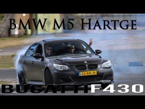 BMW M5 Hartge w/ Botter Tuning Exhaust! - Drifting and Dragracing! - 1080p HD