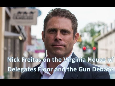 Virginia Delegate Nick Freitas on the Gun Control Debate