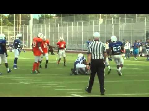 NY Rebels vs Brooklyn Blue Devils Semi Pro Football 2014