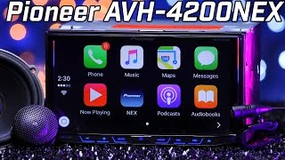 Pioneer AVH-4200NEX - Apple Carplay & Android Auto - Double DIN Review 2016