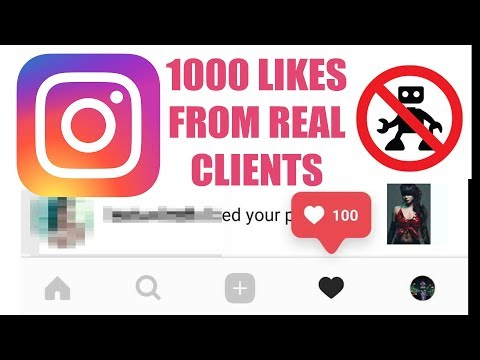 1000 instagram likes from potential  photography clients. Try this!