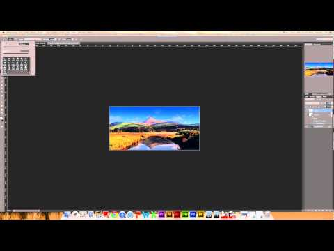Applying copyright to your work in Adobe Photoshop CS6