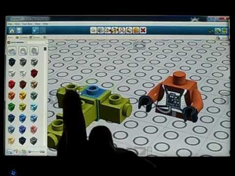 LEGO LDD on tablet PC Windows 8 7 dual boot (& POV-Ray )