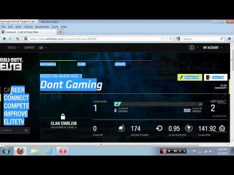 How To Rank Up And Get Customized Title And Gold Clan Tag Tutorial