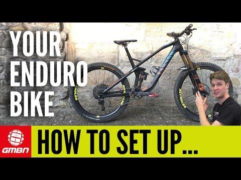How To Set Up An Enduro Mountain Bike | MTB Maintenance