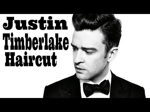 Justin Timberlake Haircut - How to Combover Fade Tutorial