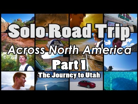 Solo Cross Country Road Trip | United States :: Part 1