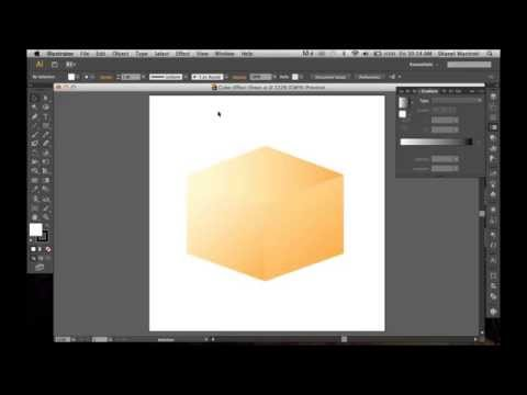 How To Create A Cube Effect In Illustrator Using The Shear Tool