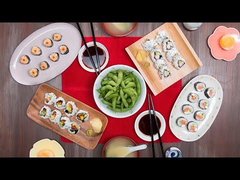 Homemade Sushi Dinner for 2