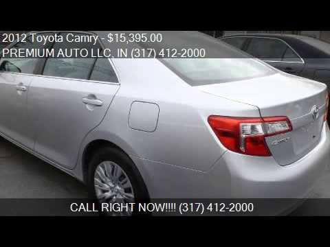 2012 toyota camry factory warranty
