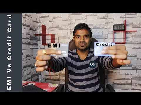 Credit Card Vs Bajaj EMI Card - No Cost EMI - Similarities & Difference of EMI Card vs Credit Card