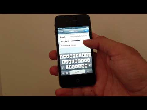 iPhone: How to set up Gmail as an Exchange account and get your mail, contacts and calendars