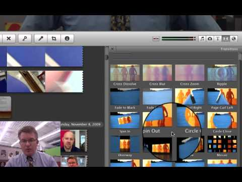 Learning iMovie #9: Adding Transitions