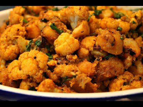 cauliflower potato masala-Aloo Gobi Masala
