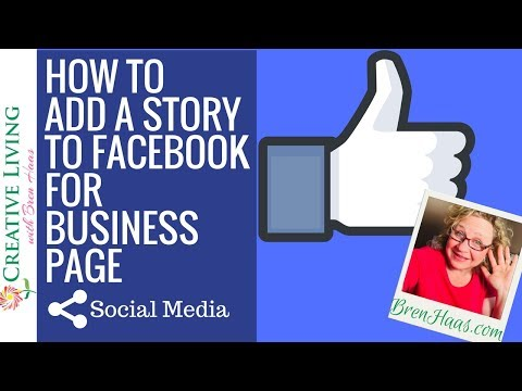 How to Add a Story to Facebook For Business Page